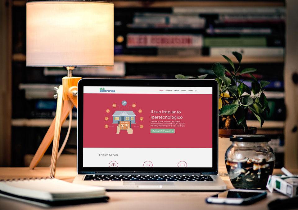 Online il nuovo sito DV Elettronica